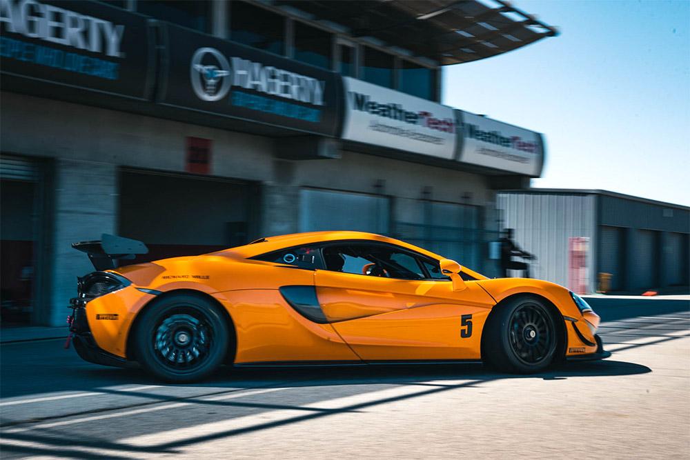 McLaren GT4 Laguna Seca Trackday