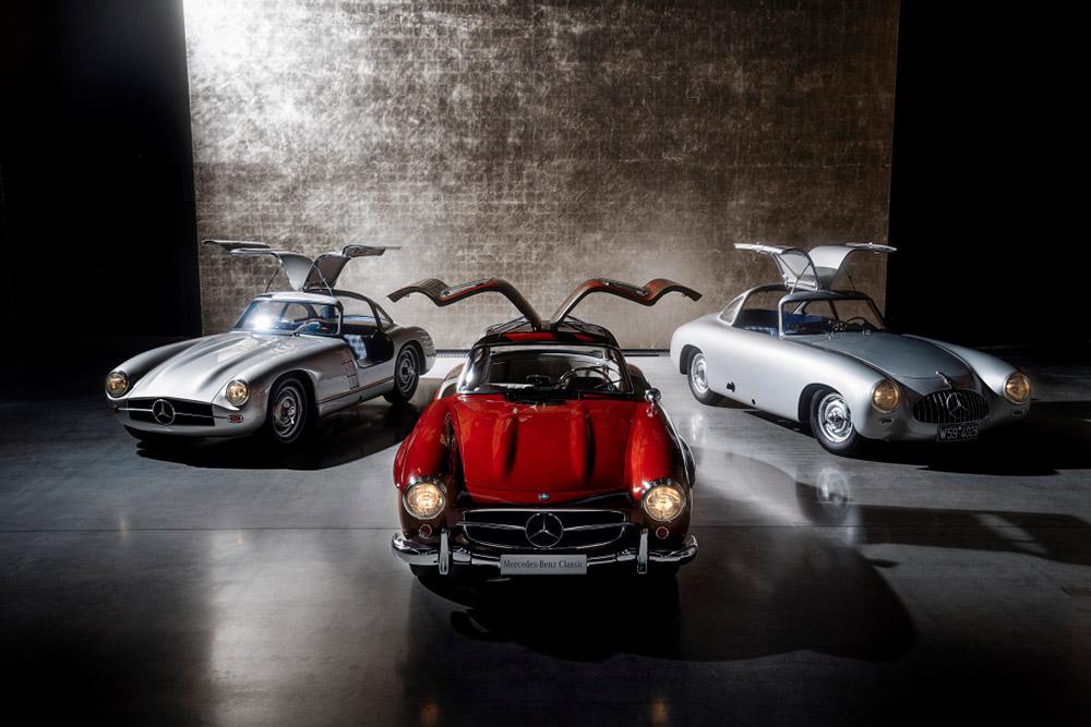 Mercedes-Benz SL History