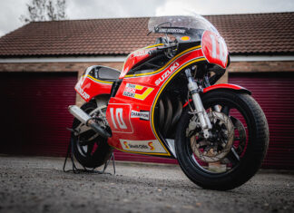 Mick Grant Suzuki XR69 racer set to be auctioned