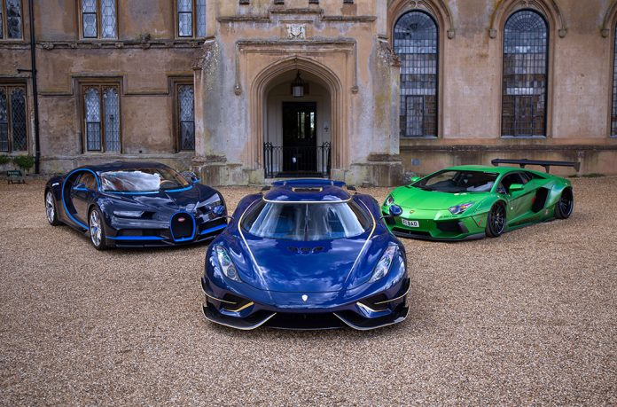 Petrolheadonism Live at Knebworth House with Hypercars and Supercars