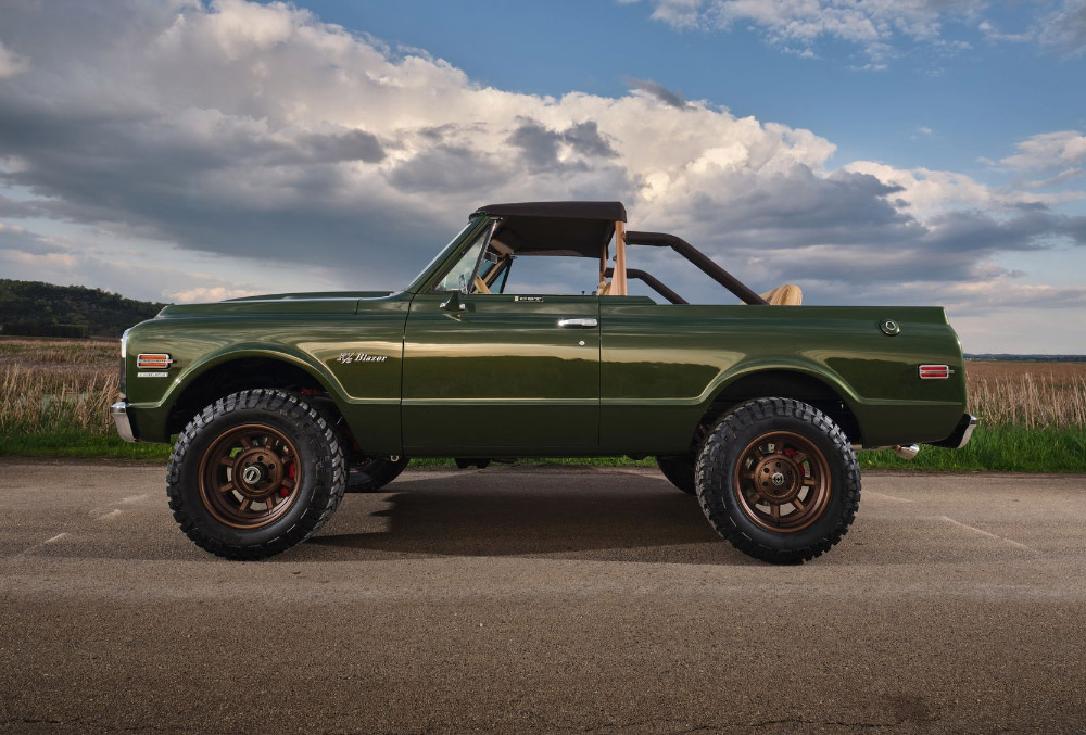 Ringbrothers Build 1970 Chevrolet Blazer for Omaze Sweepstakes