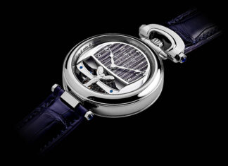 Rolls-Royce BOVET 1822 Boat Tail Timepieces
