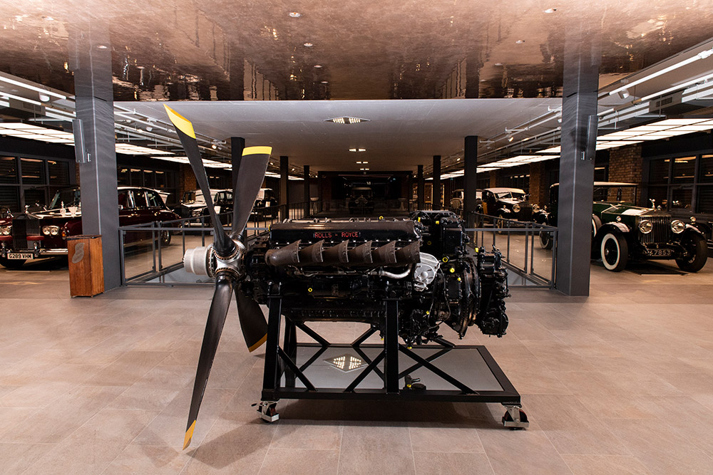 Rolls Royce Mk.113A Merlin Aero Engine offered by RM Sotheby's