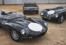 Swann Collection Jaguars offered by The Market by Bonhams