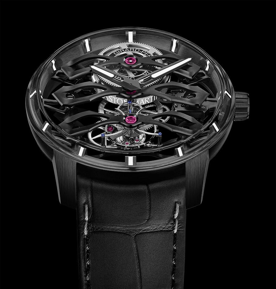 Tourbillon with Three Flying Bridges Aston Martin Edition Timepiece