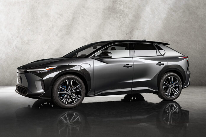 Toyota All Electric SUV Concept