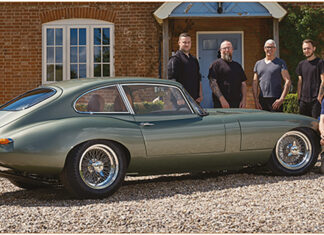 V12 E-Type Reimagined to be launched at the London Concours