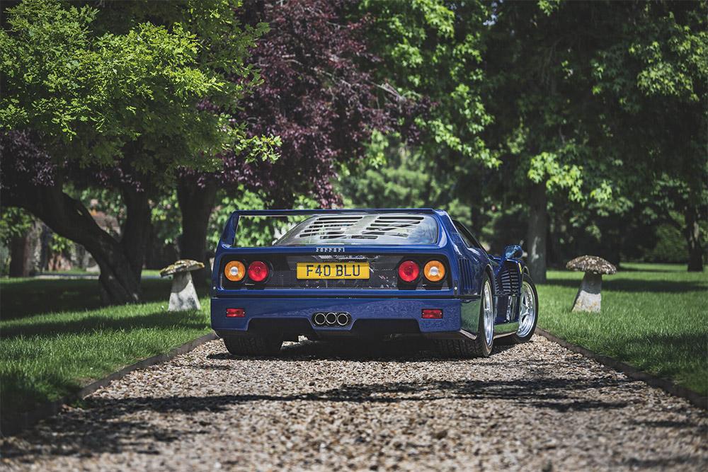 1989 Ferrari F40 Sold on Bonhams The Market Online Platform