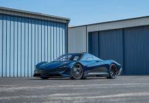 2020 McLaren Speedtail offered at RM Sotheby's Monterey Auction