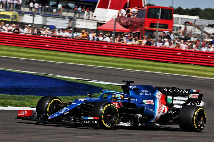 Double points for Alpine F1 Team at 2021 British GP