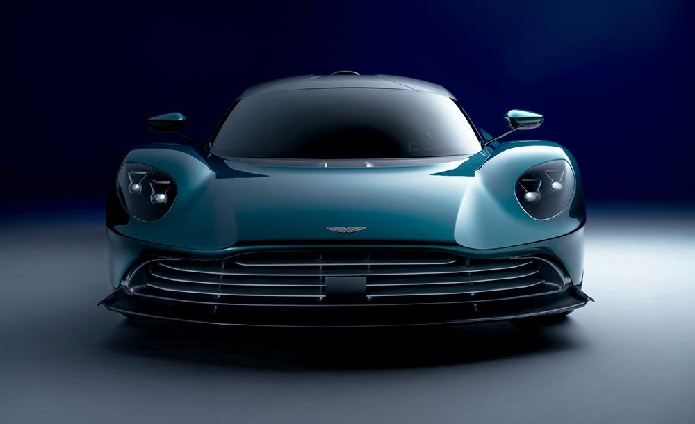 Aston Martin vahalla Hybrid Supercar Defines Driving