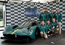 Aston Martin Valkyrie declared Michelin's Showstopper of the 2021 Goodwood Festival of Speed