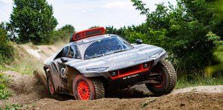 Audi RS Q e-tron Electric Dakar Rally Racer