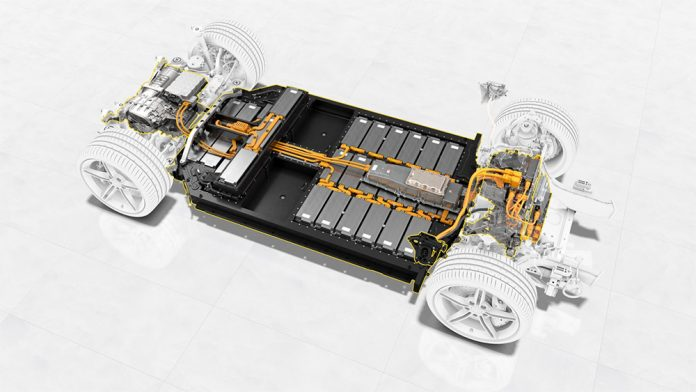 BASF Porsche EV Lithium ion Batteries