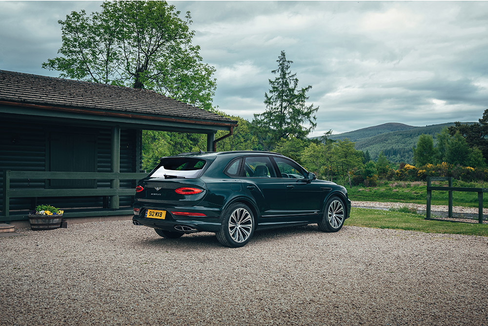 Bentley and The Macallan Partnership for Sustainability