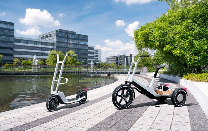 BMW e-scooter and Cargo Bike Concept