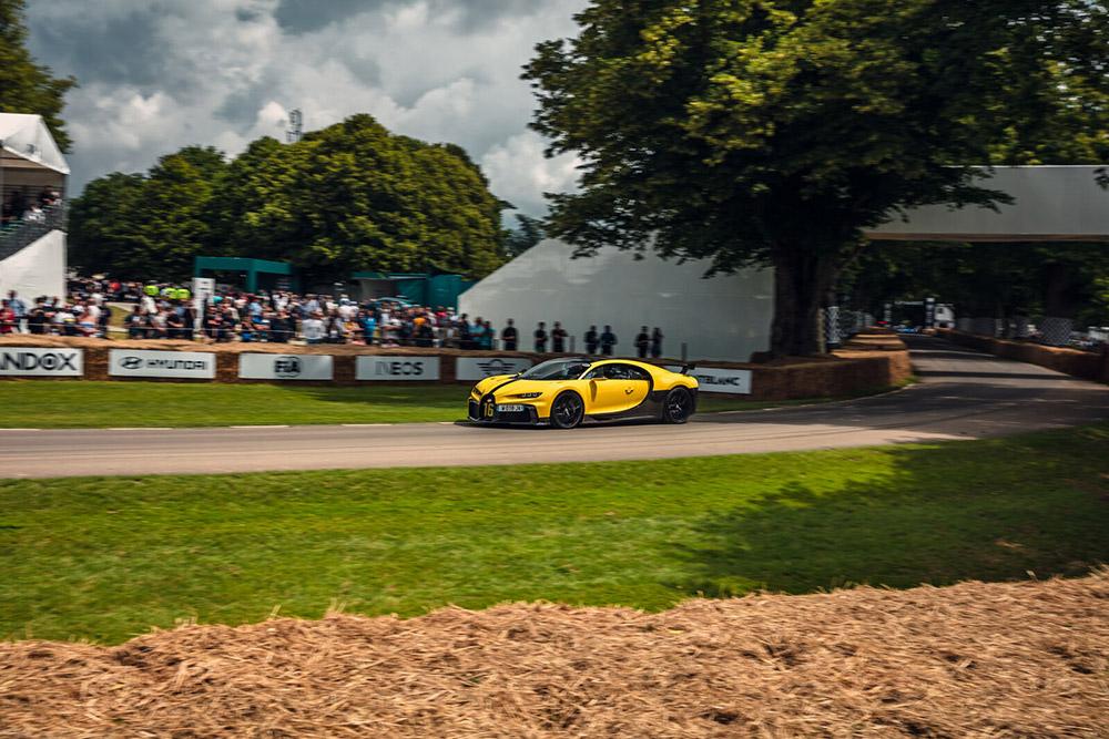 Bugatti 2021 Goodwood Supercar Run