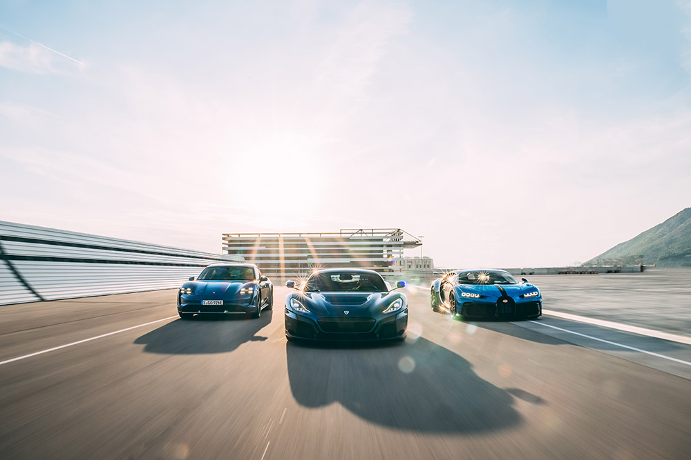 Bugatti and Rimac Combine Forces With new Company