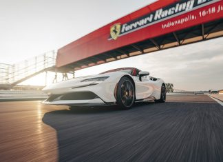 Ferrari SF90 Stradale sets Production Car Lap Record at Indianapolis Motor Speedway