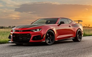 Hennessey Exorcist Camaro ZL1 30th Anniversary Special Edition