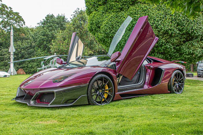 Huber Era Lamborghini Aventador Unveiled