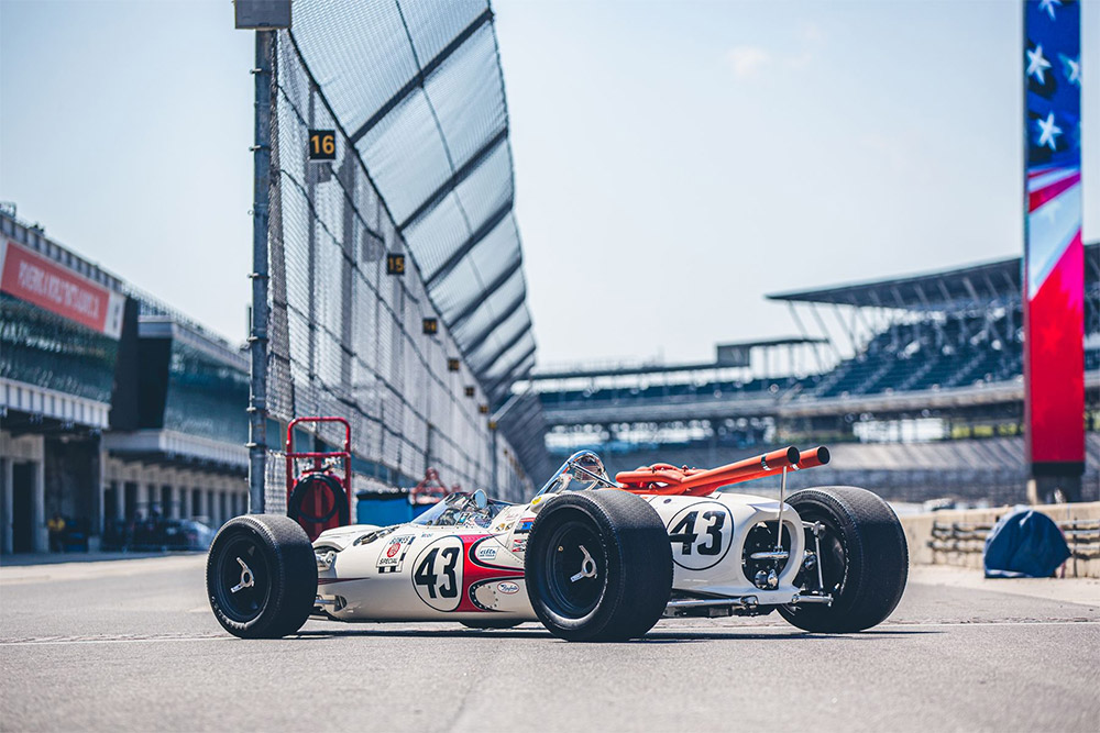 Jackie Stewart 1966 Indy 500 LOLA T-90 Gooding & Company Pebble Beach Auction