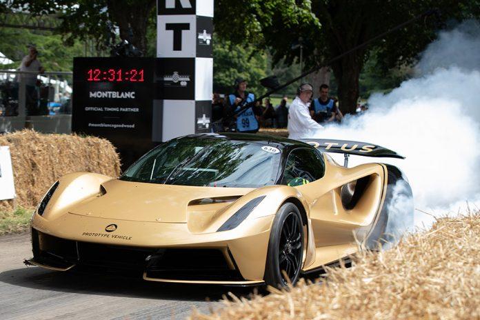 Lotus Emira Goodwood Supercar Run