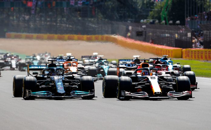Max Verstappen Crashed out of 2021 British GP
