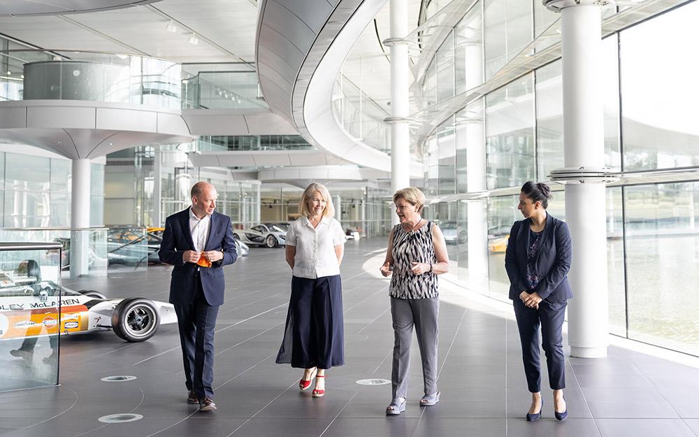 McLaren and Plan International Inspire Children Program