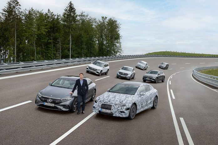 Mercedes-Benz will be ready to go all electric at the end of the decade
