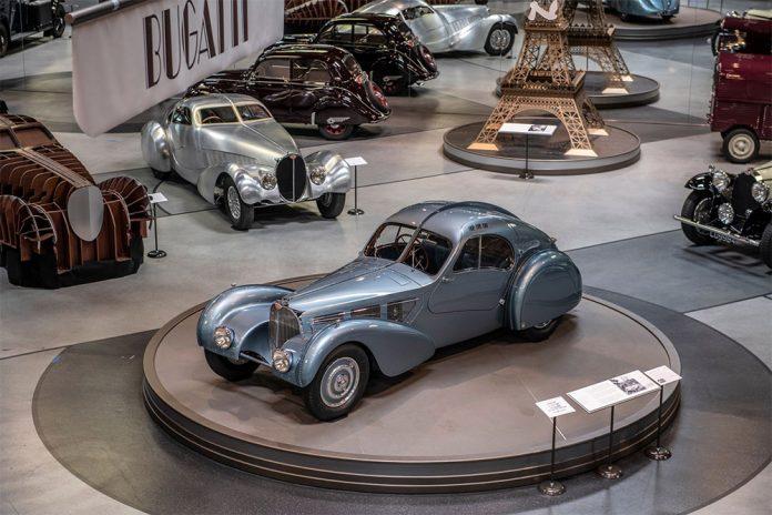 Mullin Automotive Museum Monterey Car Week Exhibit