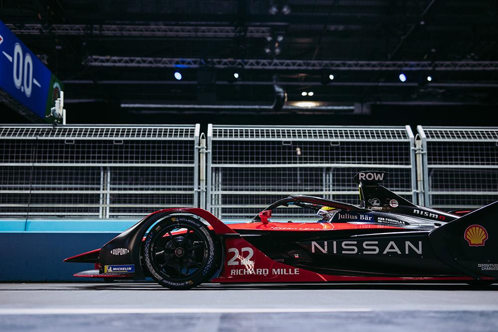 Nissan E-dam London Formaula E Races