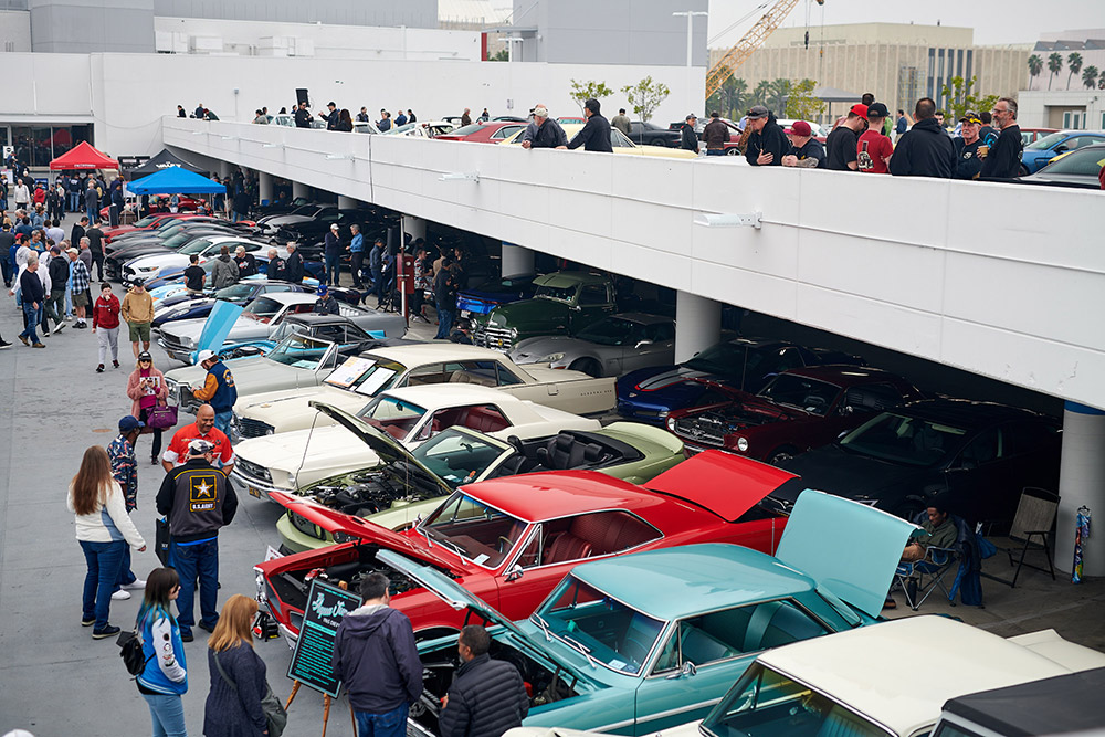 Petersen Automotive Museum hosts Bruce Meyer's All-American Cruise-In