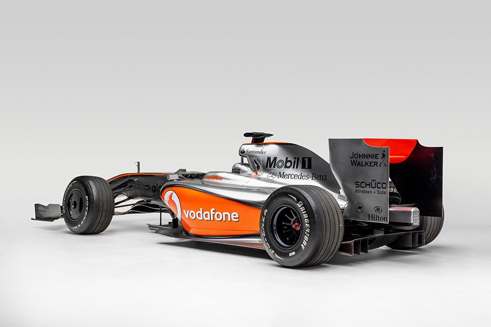 Petersen Museum Pole Position Formula 1 Exhibit