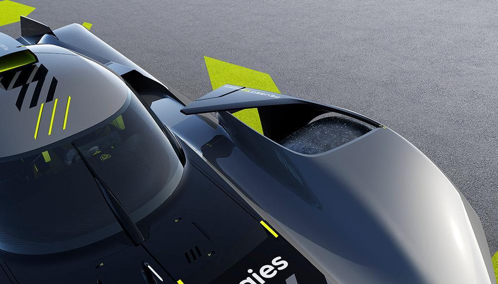 2022 Peugeot 9X8 FIA WEC Hypercar Revealed