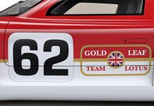 Radford Project 62 iconic Gold Leaf livery trademark
