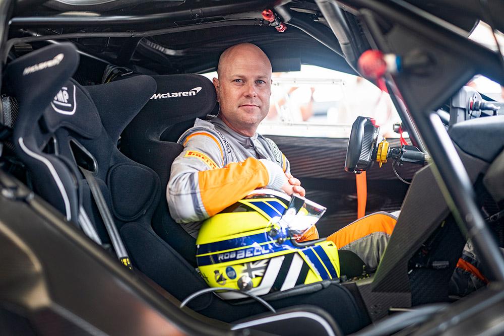 McLaren 720S GT3X winner of 2021 Goodwood Festival of Speed Timed Shootout Final