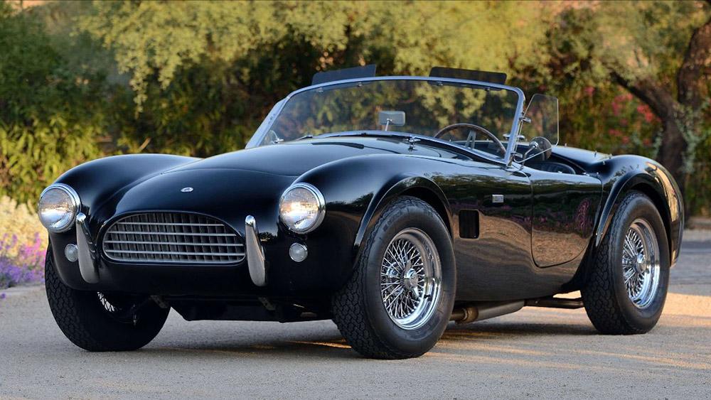 Shelby Cobras at Mecum Monterey Auction