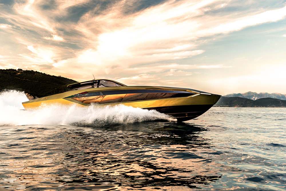 The first Tecnomar for Lamborghini 63 motoryacht delivered