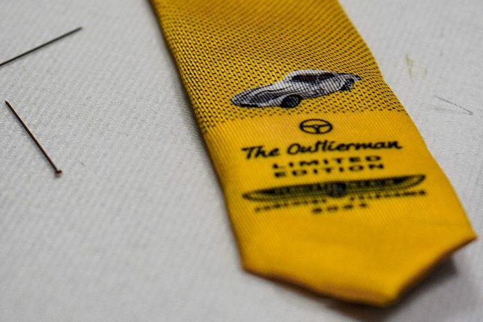 The Outlierman 2021 Pebble Beach Concours d'Elegance Tie