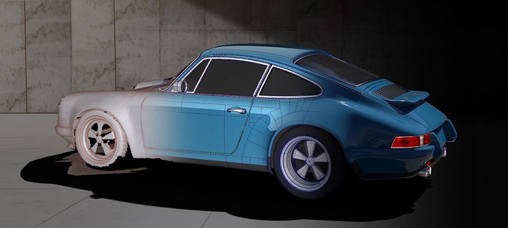 Theon Design Restored Porsche 911 964 Commissions