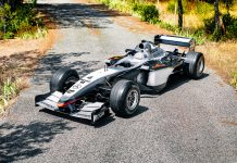 Kimi Räikkönen and David Coulthard Piloted 2002 McLaren MP4 17D RM Sothebys St Moritz Auction