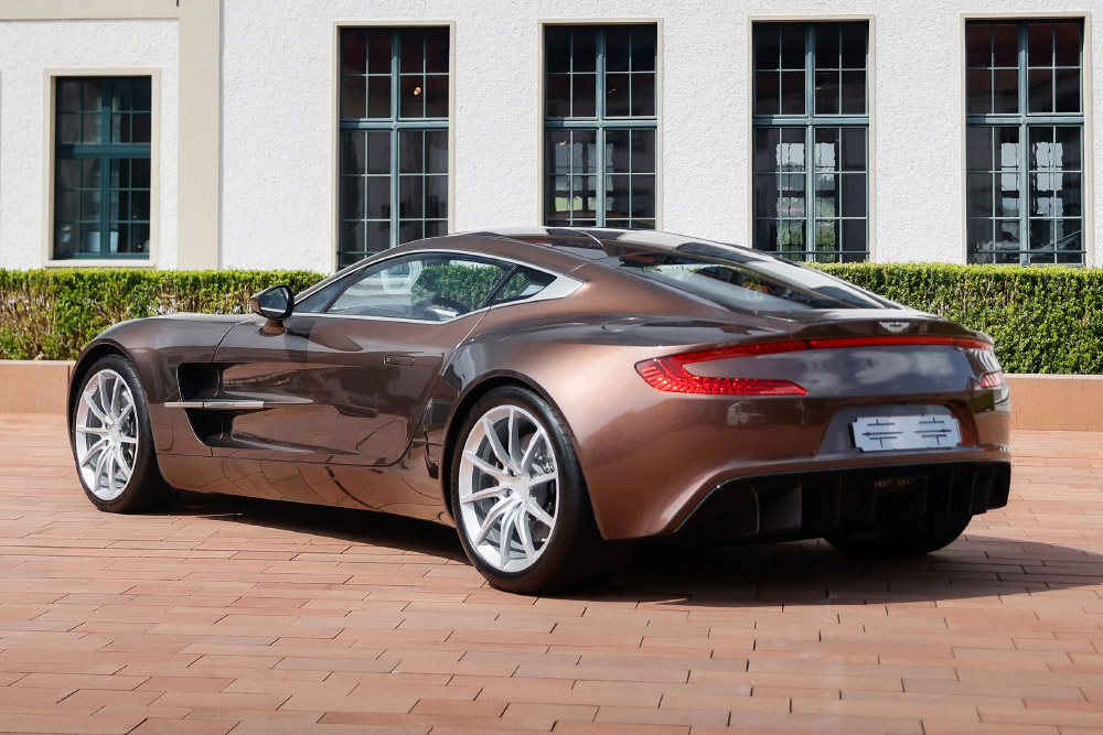2012 Aston Martin One-77 Offered at RM Sotheby's St. Moritz Auction