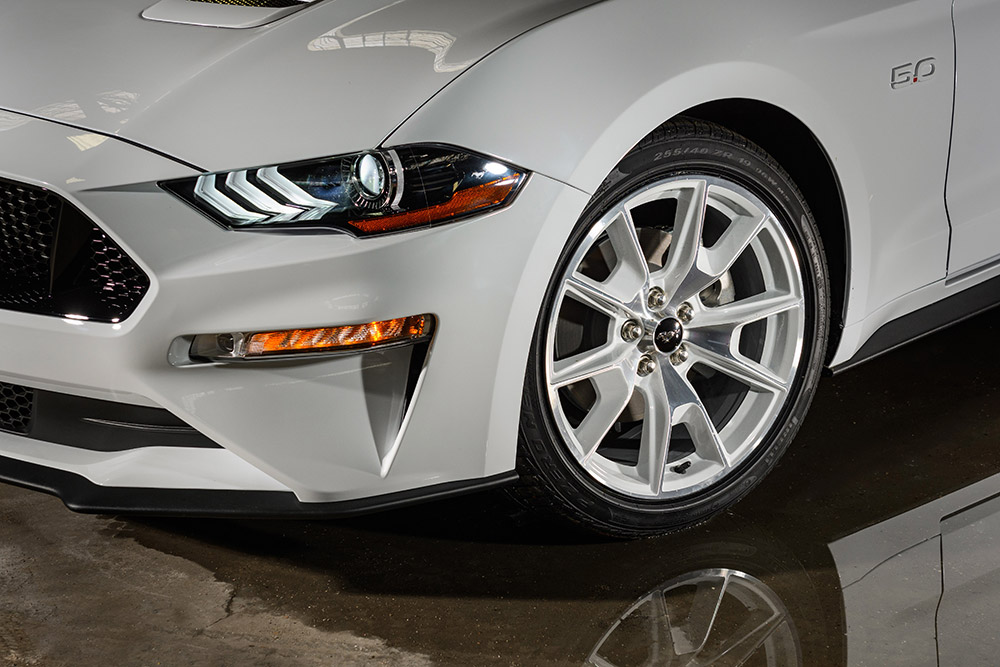 Ford Mustang GT Mach-E Ice White Edition Appearance Package