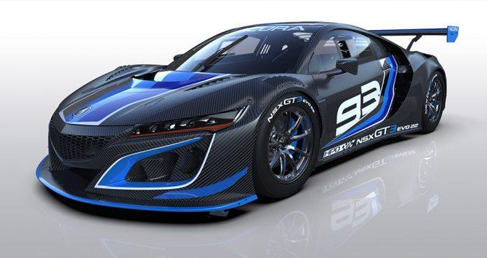 Acura NSX GT3 Evo22 Introduced