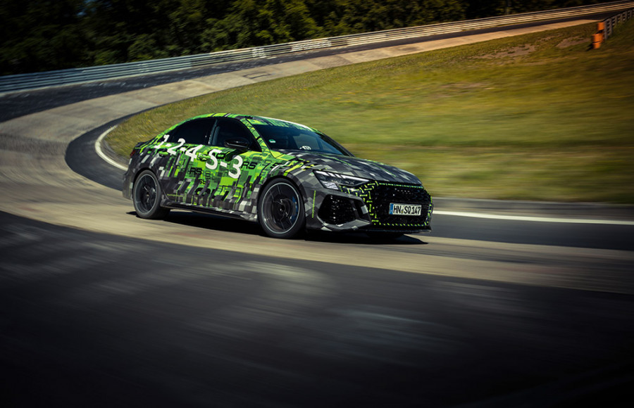 Audo RS 3 Lap record on the Nurburgring Nordschleife