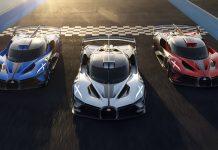Bugatti Bolide Hyper Sports Car Production