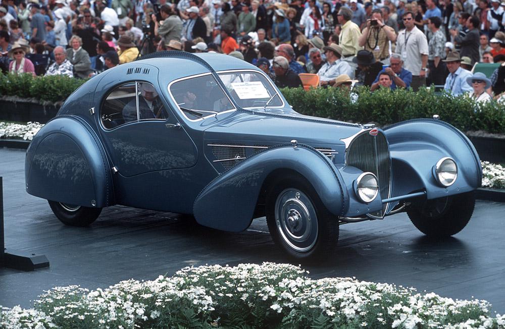 Bugatti Celebrates Pebble Beach Concours d'Elegance 70th Anniversary