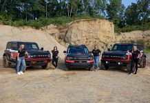 Ford Bronco 2021 Rebelle Rally Driver Lineup