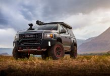 GMC Canyon AT4 OVRLANDX Off-Road Concept Unveiled